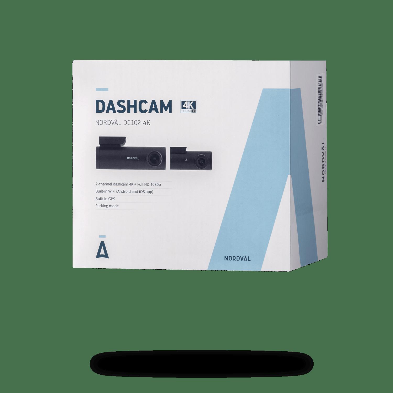DC102-4K Dashcam 2CH + Wi-Fi